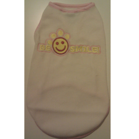 Cream Smiley Soft Vest XXS - XL