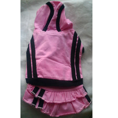 Soft Pink Sporty Top & Detachable Skirt XS - XXL
