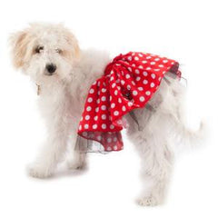 Disney Red Polka Dots Minnie Tutu M