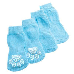 Grreat Choice Baby Blue Socks Large