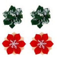 Tommy Bahama Floral Hair Bows 2 Sets