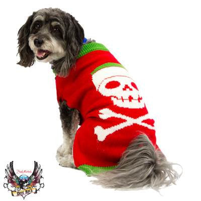 Bret Michaels Pets Skull Sweater