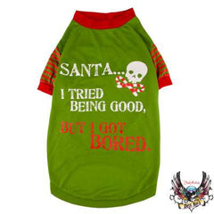 Bret Michaels Pets Santa T-Shirt