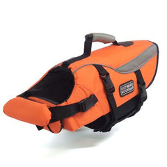 Outward Hound Pet Saver Life Jacket Orange/Green