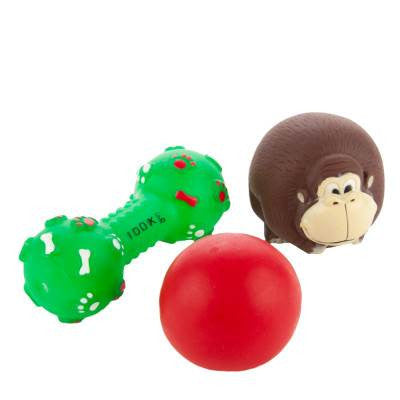Grreat Choice Safari Monkey Pack (3 toys)