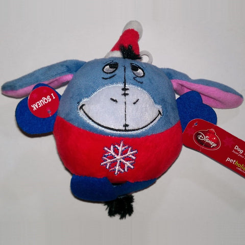 Disney Holiday Eeyore Plush Dog Toy