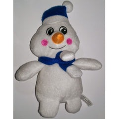 Grreat Choice Squeaky Snowman Plush
