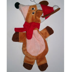 Grreat Choice No-Fill Squeaky Reindeer Plush