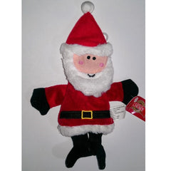 Grreat Choice No-Fill Squeaky Santa Plush