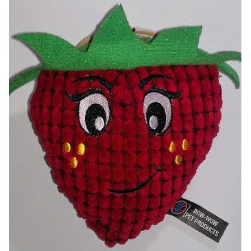 Garden Party Pals Squeaky Strawberry Plush