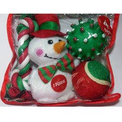 Grreat Choice Snowman Plush Toy Pack (4 Toys)