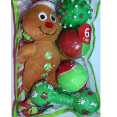 Grreat Choice Gingerbread Plush Toy Pack (6 Toys)