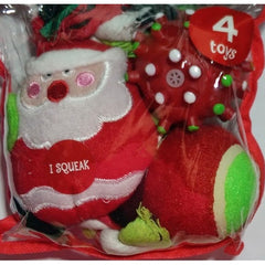 Grreat Choice Whimsy Santa Toy Pack (4 Toys)