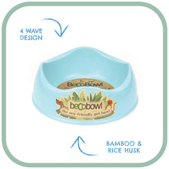 Beco Pets Eco Feeding Bowl - Blue