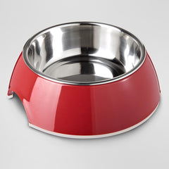 Removable No-Skid Stainless Steel Bowl