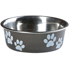 Flamingo Feeding Bowl - Black