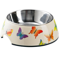 Hunter Melamine Bowl Colorful Butterfly