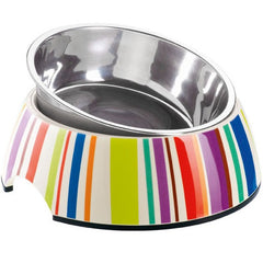 Hunter Melamine Bowl Colorful Stripes