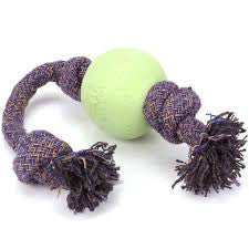 Beco Pets Beco Ball On Rope Green