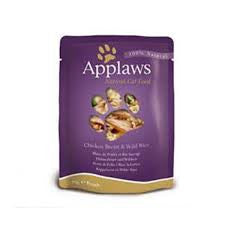 Applaws Cat Chicken with Rice in Broth Pouch 70g