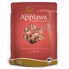 Applaws Cat Tuna & Prawn Pouch 70g