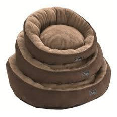 Hunter Donut Mokka Pet Bed - Brown
