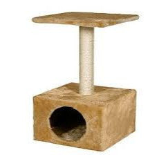 Flamingo Cat Scratching Pole Amethyst Beige