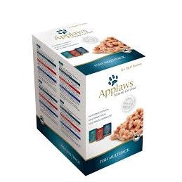 Applaws Cat Fish In Broth Multipack 12 x 70g