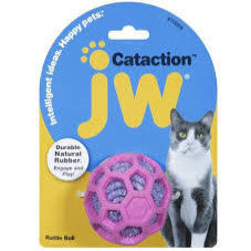 Petmate JW Rattle Ball Cat Toy
