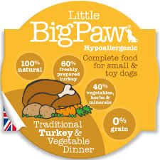Little BigPaw Turkey & Vegetable Dinner
