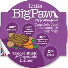 Little BigPaw Duck & Vegetable Dinner