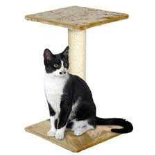 Flamingo Wilma Cat Scratching Pole Beige