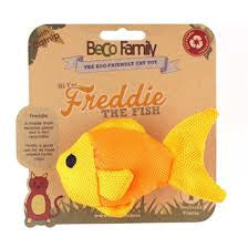 Beco Pets Catnip Freddie The Fish