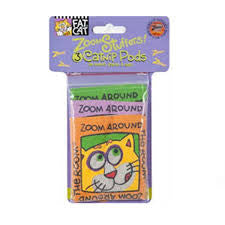 Fat Cat Zoom Stuffers Catnip Pods
