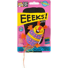 Fat Cat Eeeks! Flower Chi Cat Toy