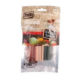 Flamingo Veggie Dental Chew Stix Mix