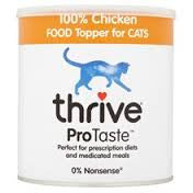 Thrive Chicken Food Topper for Cats 170g