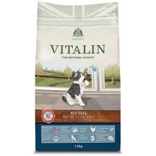 Vitalin Cat British Chicken Dry Kitten Food
