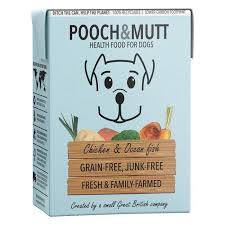 Pooch & Mutt Chicken & Ocean Fish Dog Wet Food