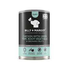 Billy & Margot Chicken, Tripe Puppy Wet Food