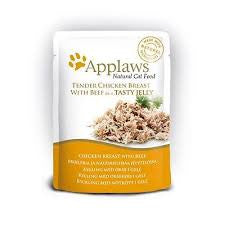 Applaws Cat Chicken with Beef in Jelly 70g