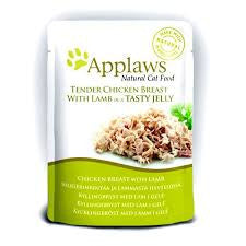 Applaws Cat Chicken with Lamb in Jelly Pouch 70g