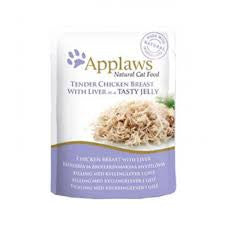 Applaws Cat Chicken with Liver in Jelly Pouch 70g