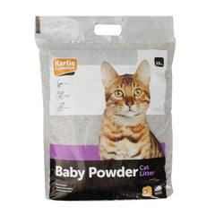 Flamingo Baby Powder Scent Cat Litter