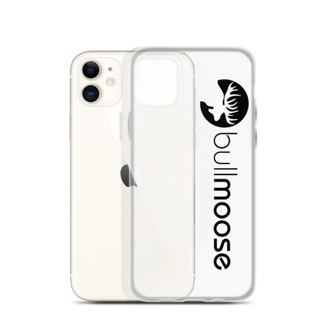 Bull Moose Black Logo iPhone Case