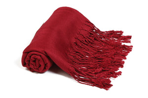 Blood Red Pashmina