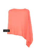 Poncho Sheer Asymmetric