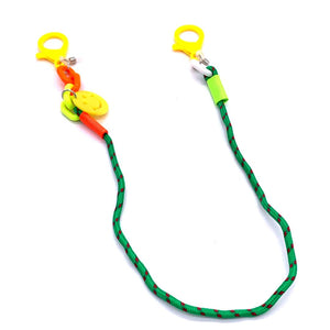 Chain Holder KIDS Smiley Face Green