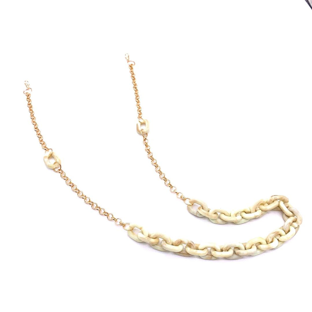 Chain Holder Luxury Marble Gold