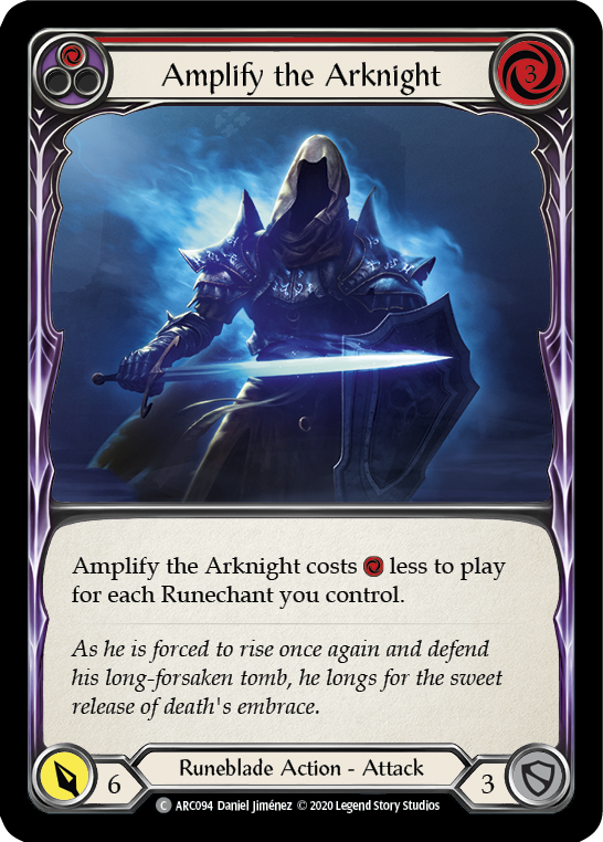 Amplify the Arknight (Red) [ARC094] Unlimited Edition Normal | Fab Empire